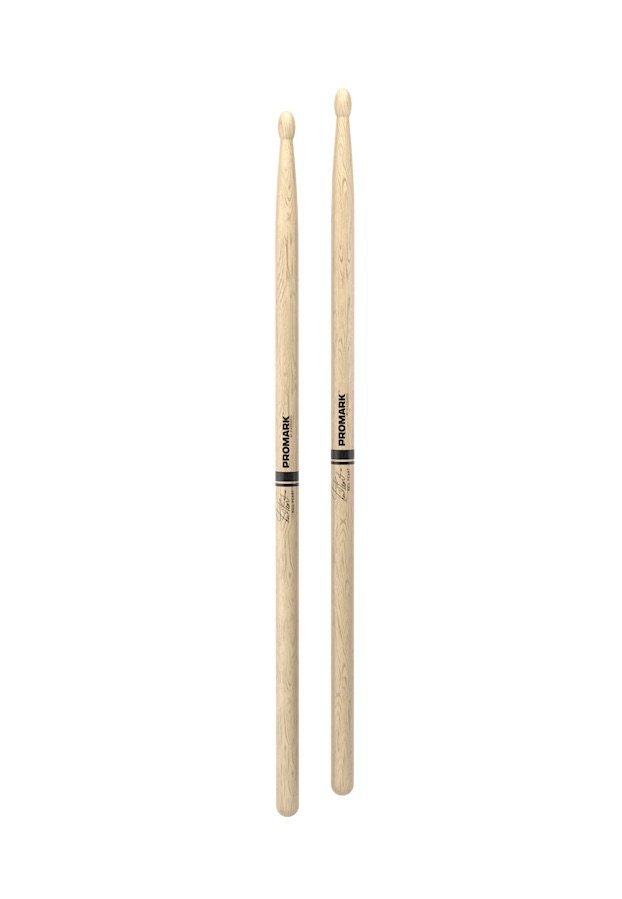 Promark PW747W Neil Peart Signature Shira Kashi Oak Wood Tip Drumstick