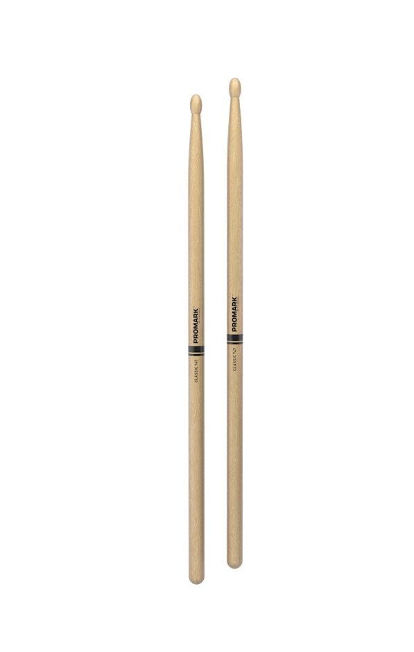 Promark TX747W Classic 747 Hickory Wood Tip Drumstick