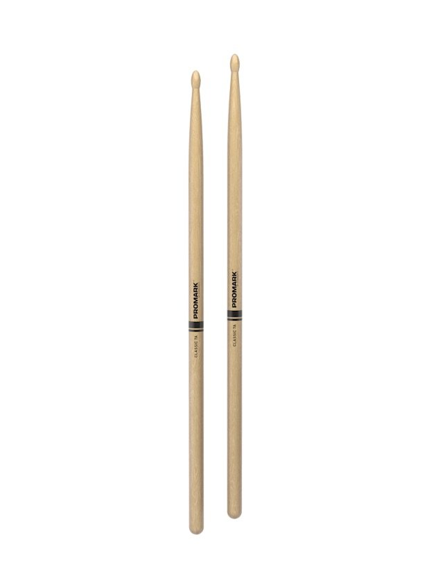 Promark Classic 7A hickory Wood Tip Drum Stick