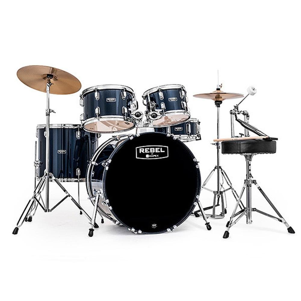 Mapex RB5844FTCCYB 5-Piece Complete Set Up w/ Fast Size Toms - Royal Blue