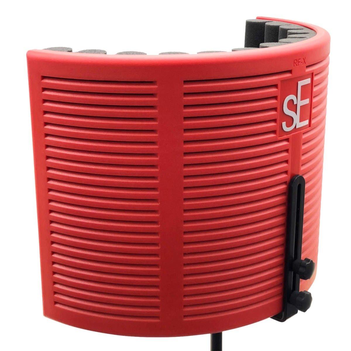 sE Electronics RF-X Reflexion Filter Portable Acoustic Treatment Device - Red-Black Color Version