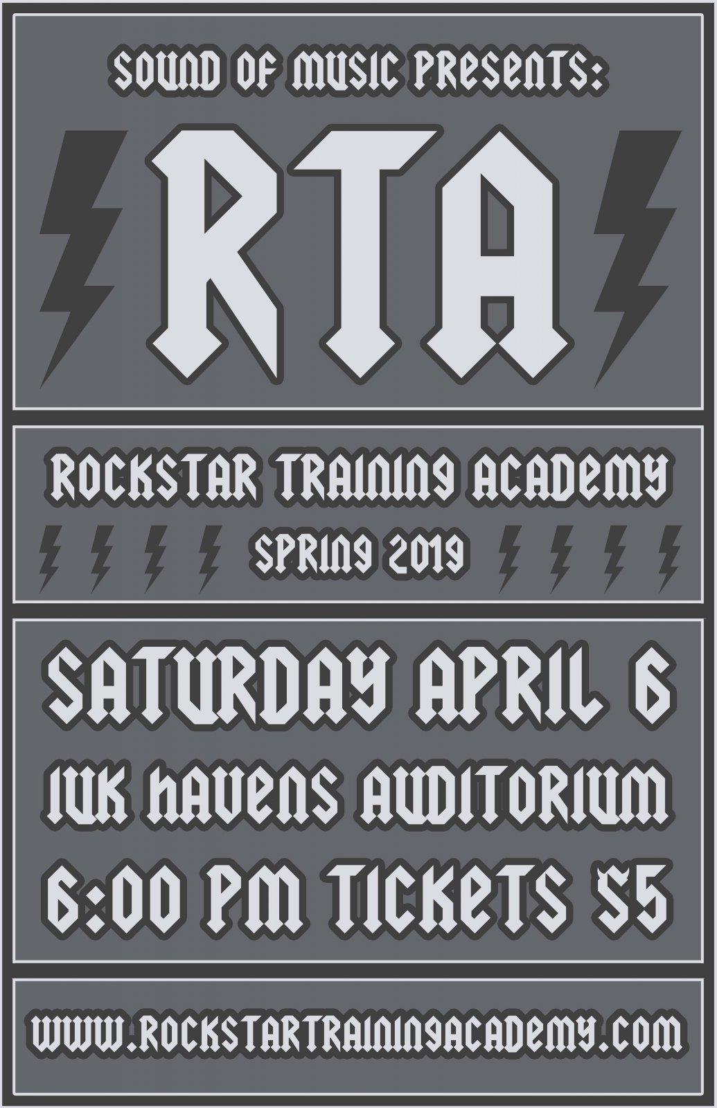 RTA Spring 2019 Ticket