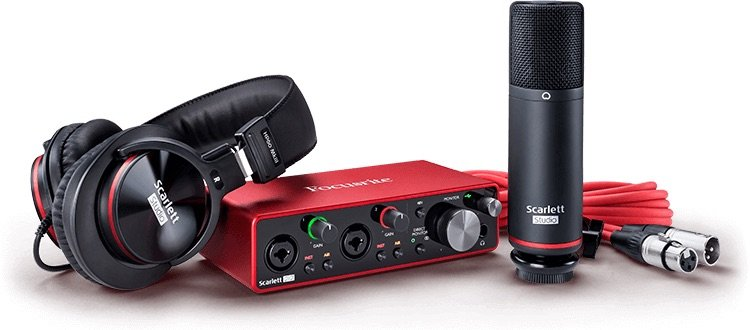 Focusrite Scarlett 2i2 Studio 3rd Generation Bundle