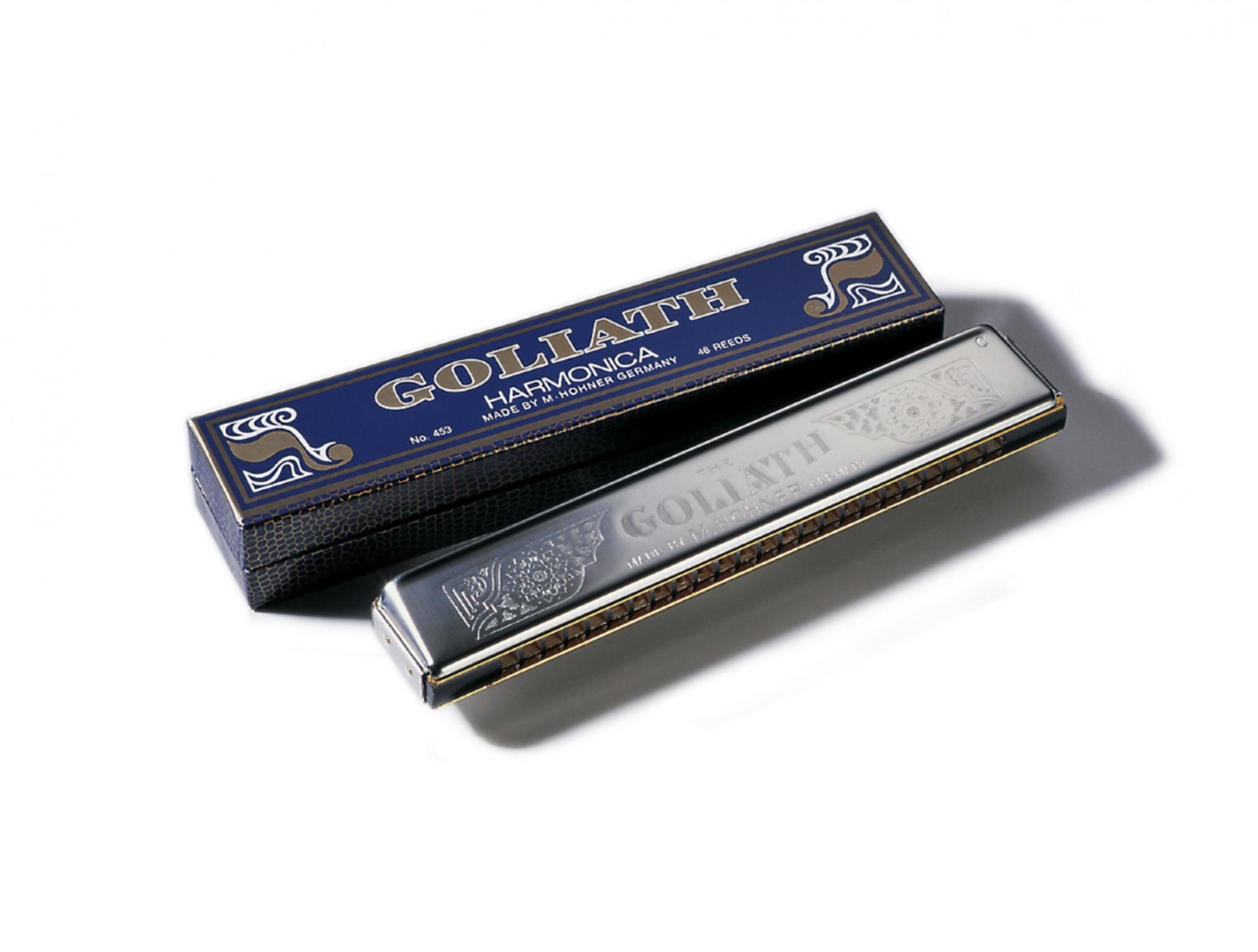 Hohner Goliath 435-C Goliath Tremolo Key Harmonica