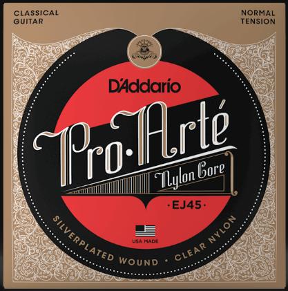 D'Addario EJ45 Pro-Arte Nylon Normal Tension