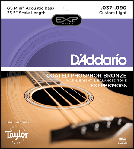 D'addario EXP GS Mini  23.5 Scale Length Acoustic Bass Strings