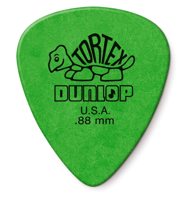 Dunlop 12 Pack Tortex Standard .88 MM