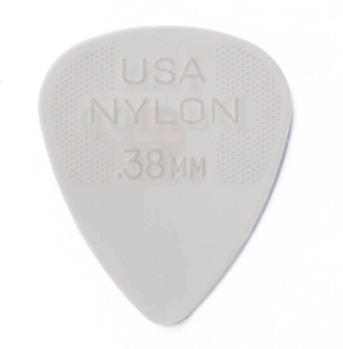 Dunlop 44P.38 Nylon .38mm Guitar Picks
