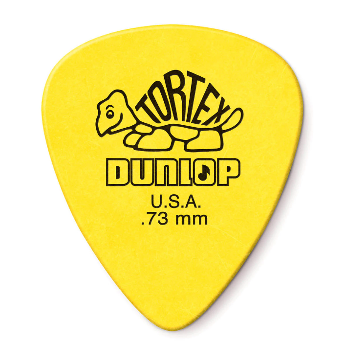 Dunlop 12 Pack Tortex Standard .73 MM