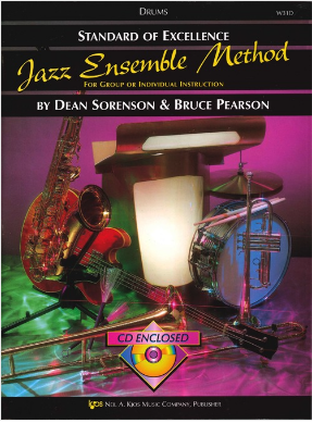 Standard of Excellence Jazz Ensemble Method Drums