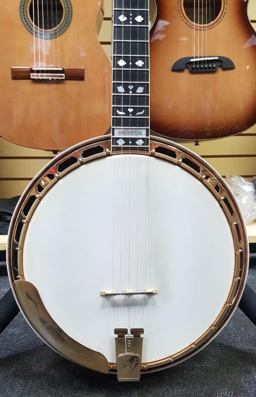 Gibson 1993 Earl Scruggs Golden Deluxe Mastertone Signature Model 5-String Banjo w/ Hardshell Case