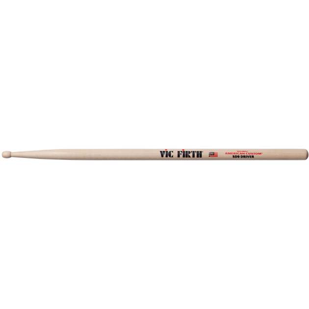 Vic Firth American Custom SD9 Driver Wood Tip Drumstick