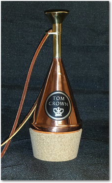 Tom Crown TC10B Transposing French Horn Mute-Copper