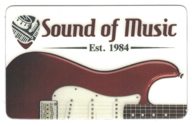 $25 Sound of Music Gift Card