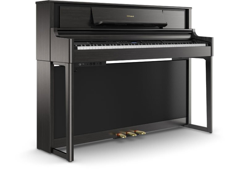 Roland LX-705 PureAcoustic Modeling Piano w/ stand & bench - Charcoal
