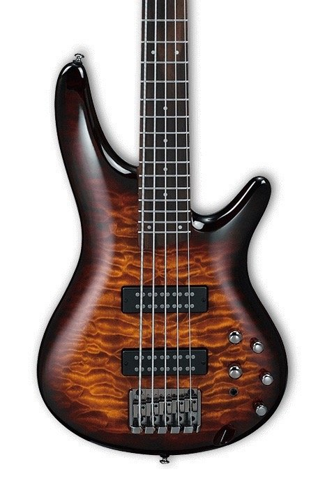 Ibanez SR405EQMDEB Standard 5 String - Dragon Eye Burst