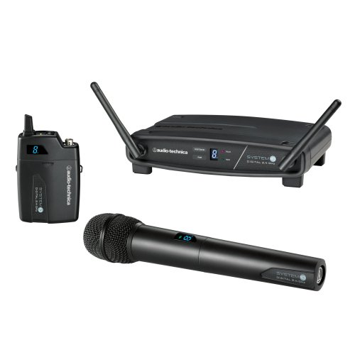 Audio Technica ATW-1102  System 10 Digital Handheld Wireless Microphone