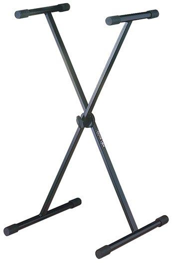 Quik Lok Single X Braced Keyboard Stand