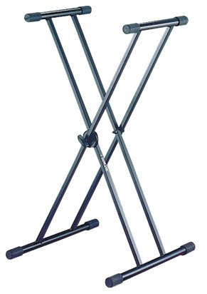 Quik Lok Double X Braced Keyboard Stand