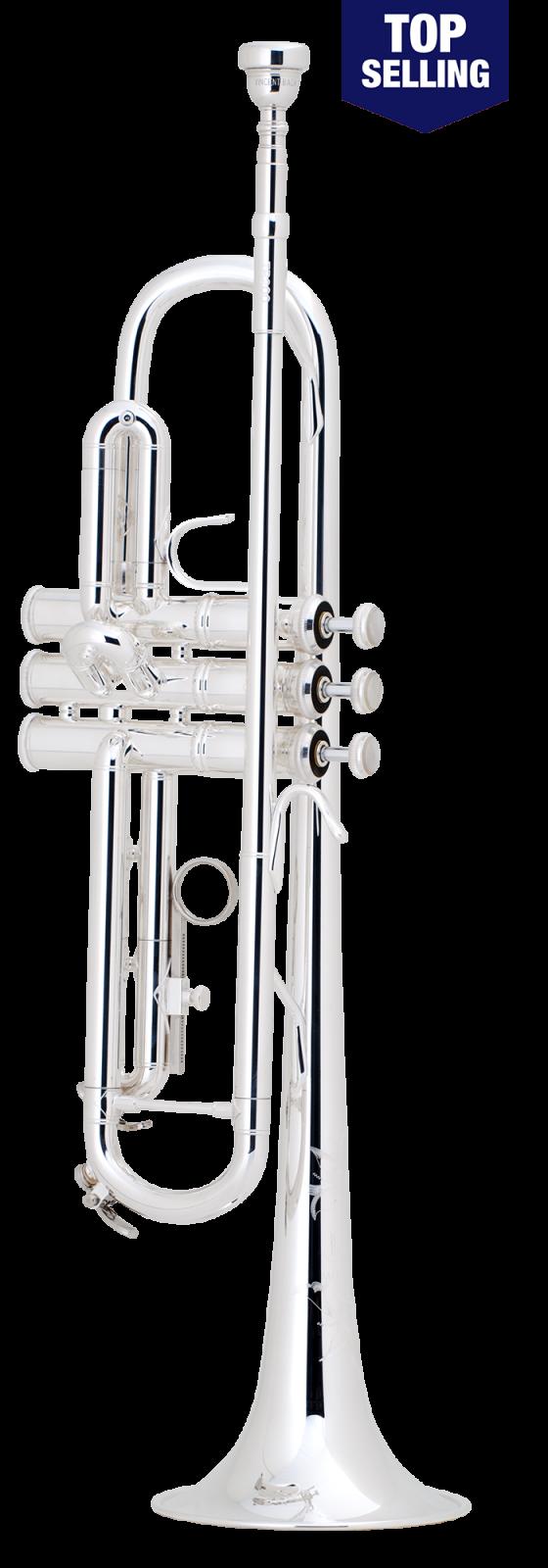 Bach Model TR200S Silver Trumpet