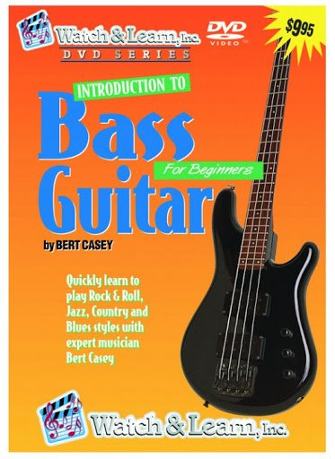Watch & Learn Introduction To Bass Guitar For Beginners DVD
