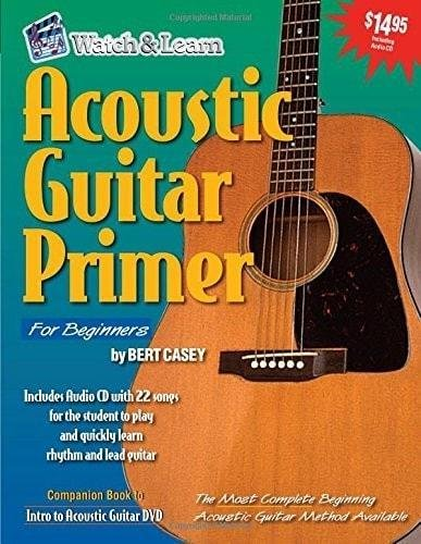 Watch & Learn Acoustic Guitar Primer with CD