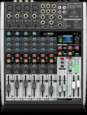 Behringer XENYX X1204USB Premium 12-Input 2/2-Bus Mixer & USB/Audio Interface