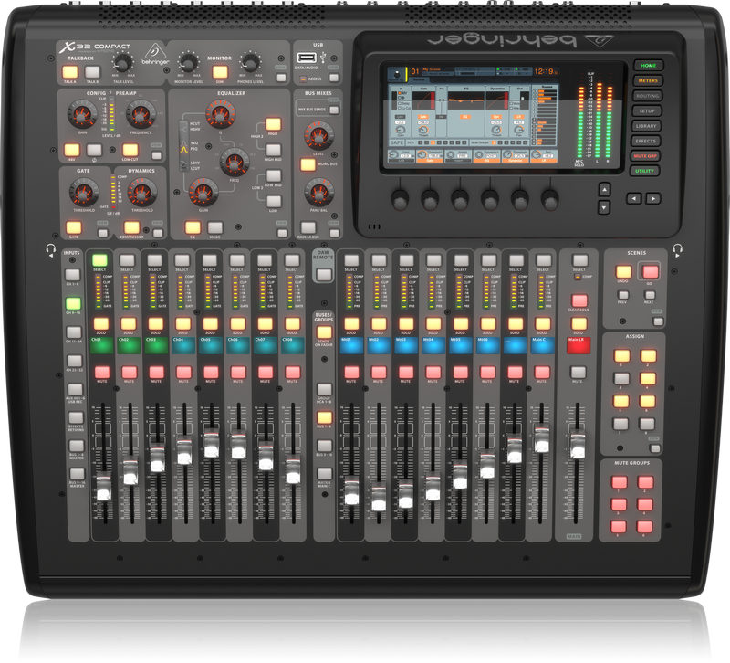Behringer X-32 Compact 40-Input, 25-Bus Digital Mixing Console