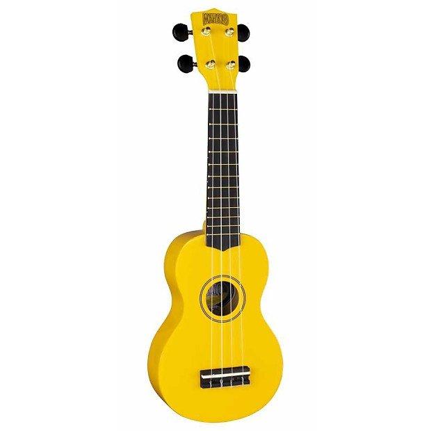 Mahalo Rainbow Soprano Ukulele-Yellow