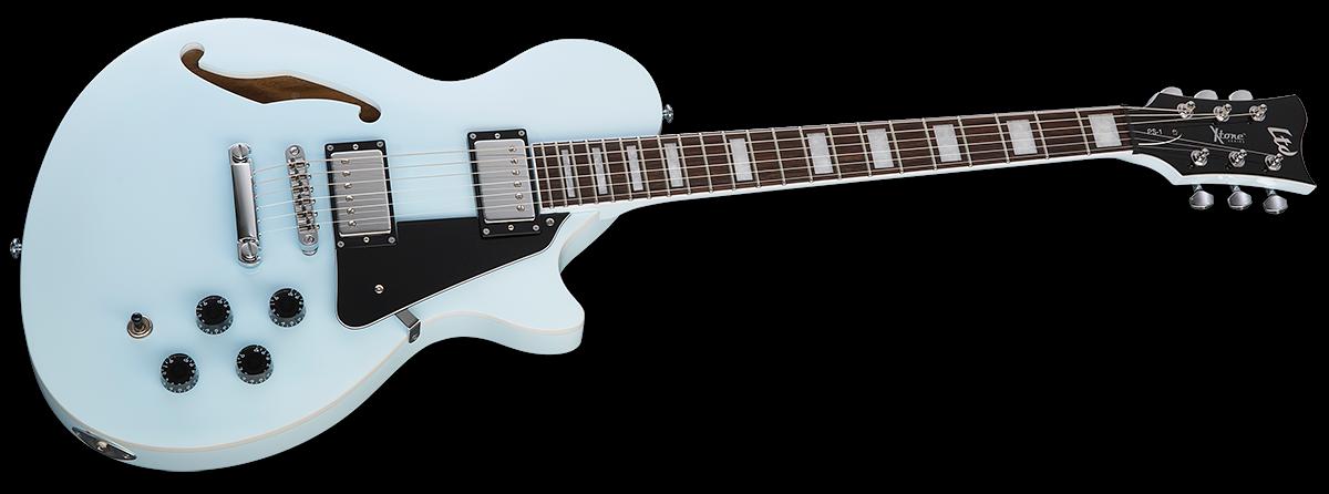 ESP/LTD XPS1SOB X-Tone Series Semi-Hollowbody 6 -String Electric Guitar - Sonic Blue