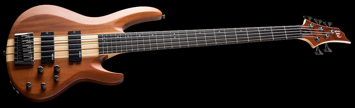 ESP/LTD B-5E Mahogany 5-String Electric Bass Guitar - Natural