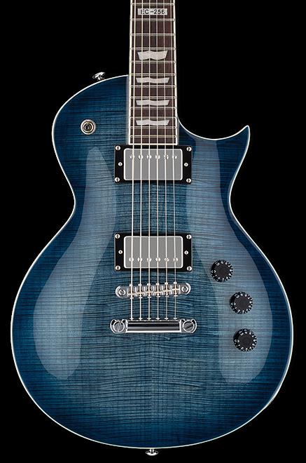 ESP LTD EC-256 FM Electric Guitar - Cobalt Blue