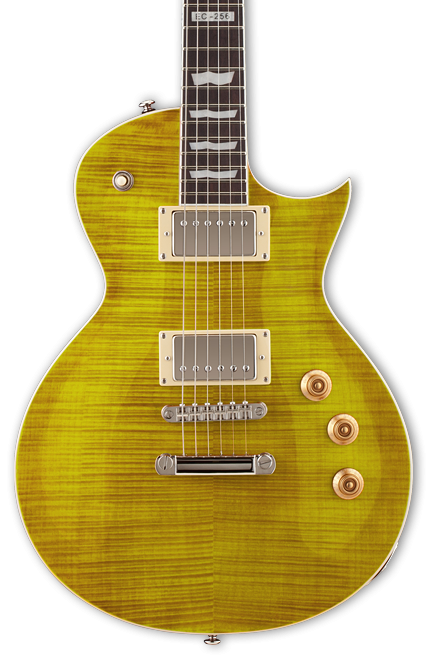 ESP/LTD EC-256FM Electric Guitar-Lemon Drop