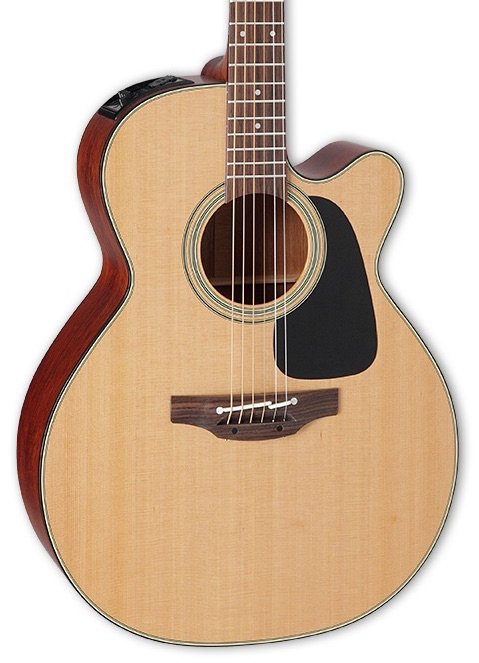 Takamine Pro Series 1 NEX, cutaway, Solid Cedar Top, Sapele Back and Sides w/case