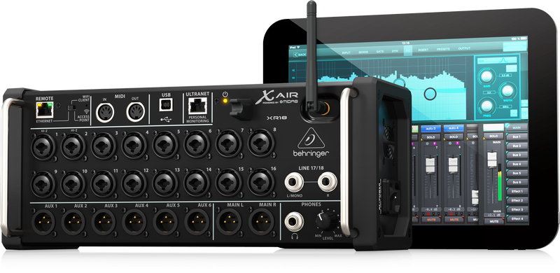 Behringer X AIR XR18 Digital Mixer for iPad/Android Tablets
