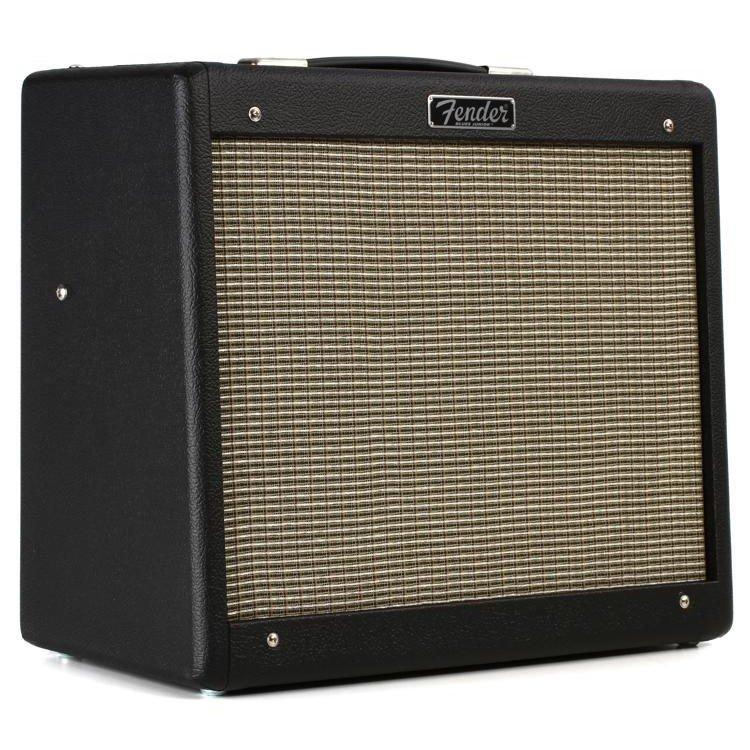 Fender Blues Jr IV Black 15w 1x12 Tube Combo Guitar Amplifier