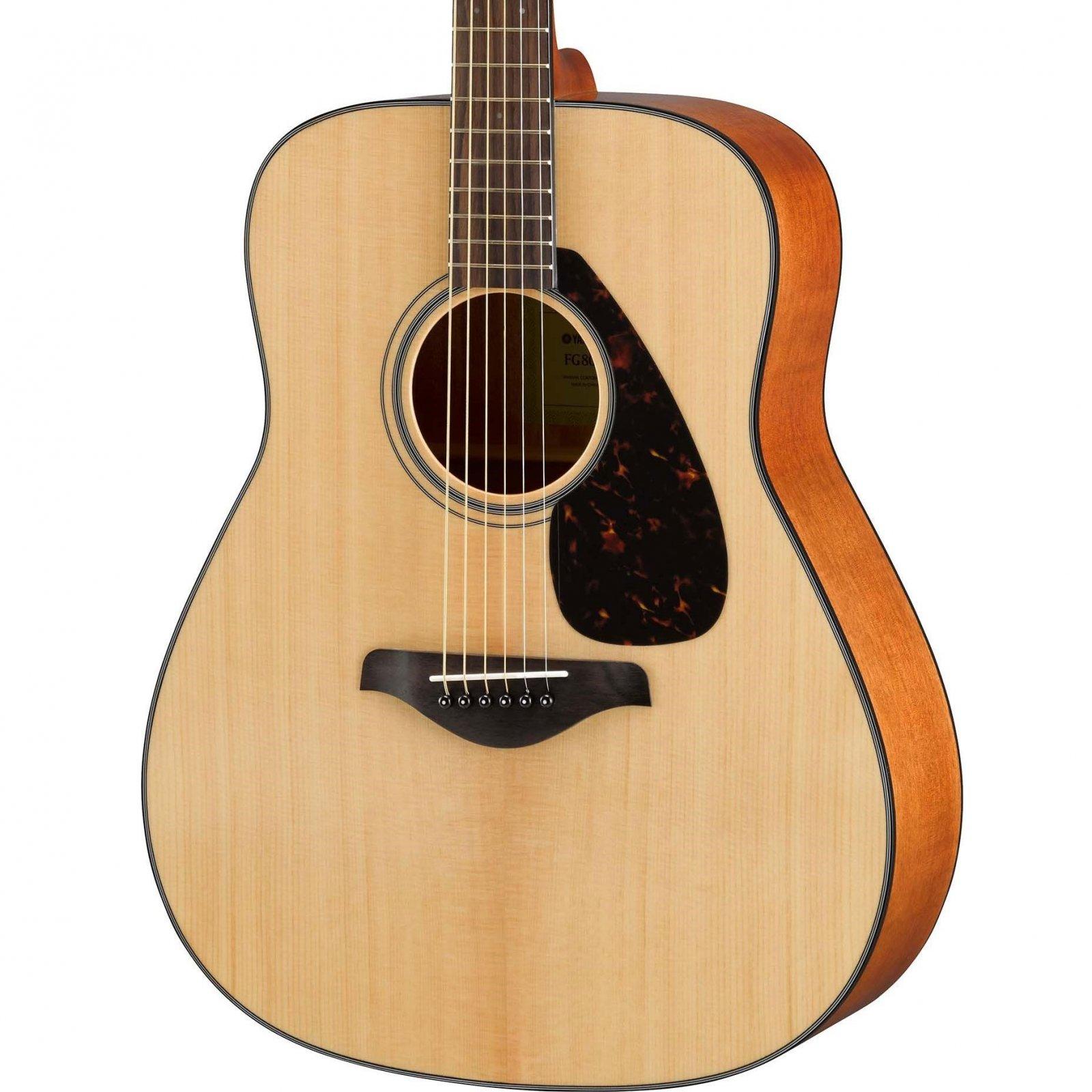 Yamaha FG800 Dreadnought Guitar - Solid Spruce Top - Natural