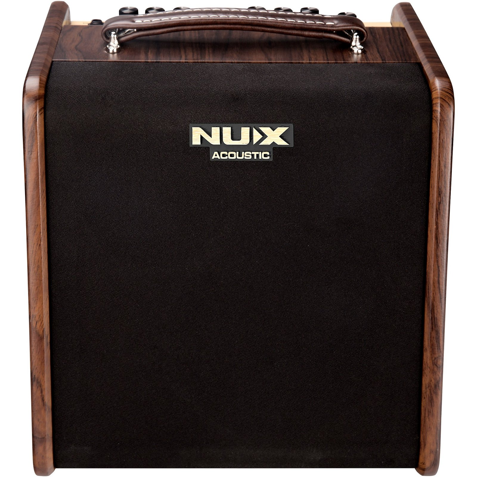 NUX AC-50 Stageman Acoustic Guitar Amplifier w/ Effects and Blue Tooth Foot Pedal