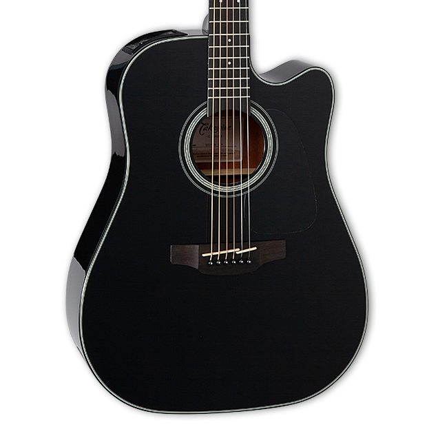 Takamine GD30CE Acoustic-Electric Guitar - Gloss Black