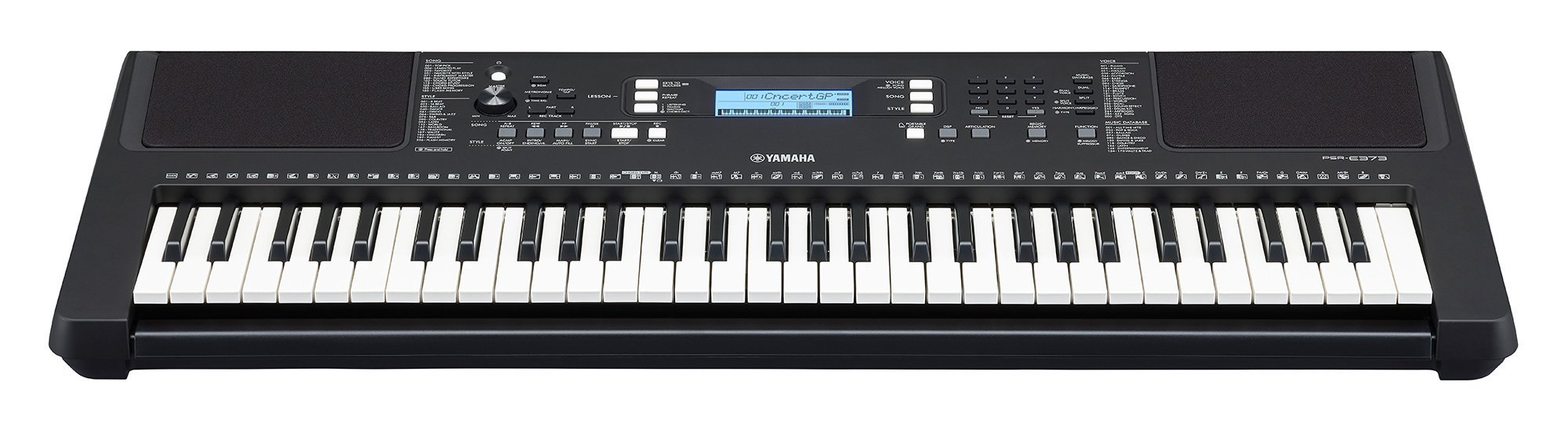 Yamaha PSRE373 KIT - 61 Key Keyboard with SK B2 Kit