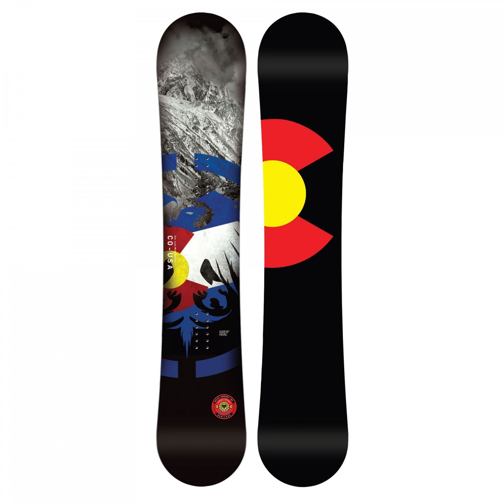 Never Summer Heritage Snowboard 2020