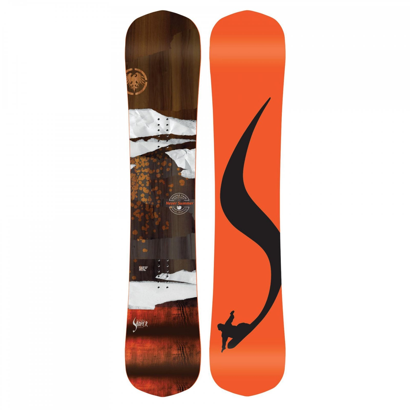 Never Summer Shaper Twin Snowboard 2020