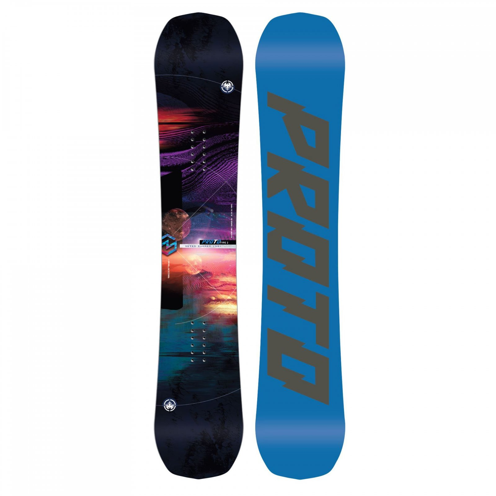 Never Summer Proto Type Two Women's Snowboard 2020