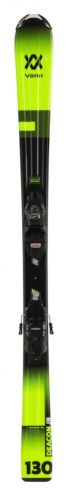 Volkl Deacon JR VMotion + 4.5 VMotion JR Skis 2020 - size 130cm