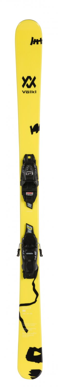Volkl Revolt JR Skis + 4.5 VMotion JR Bindings 2020 - 138cm