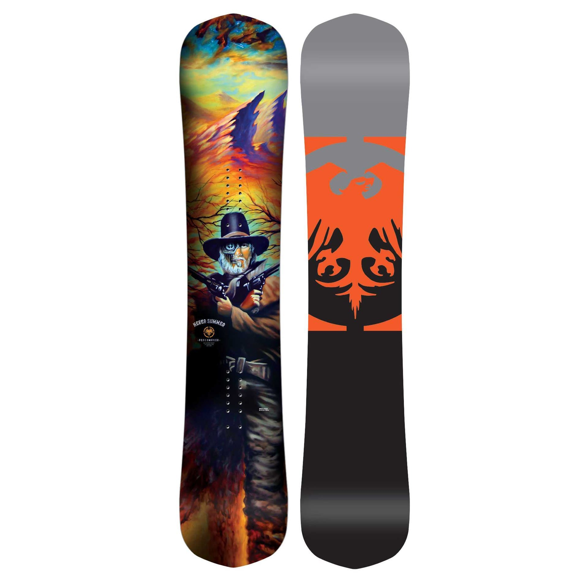 Never Summer Peacemaker Snowboard 2019