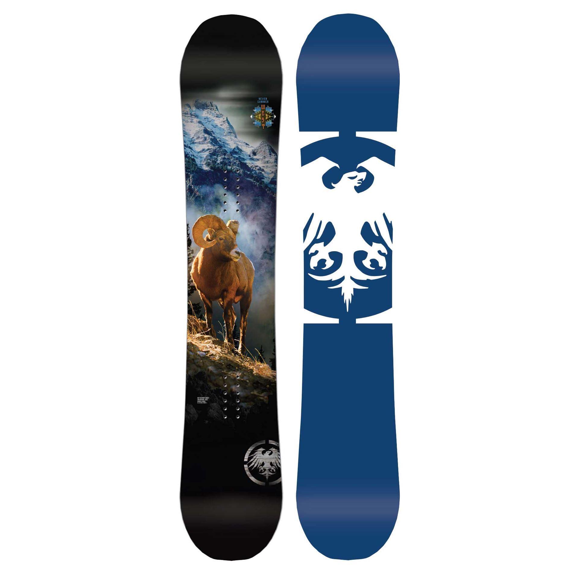 Never Summer West Snowboard 2019