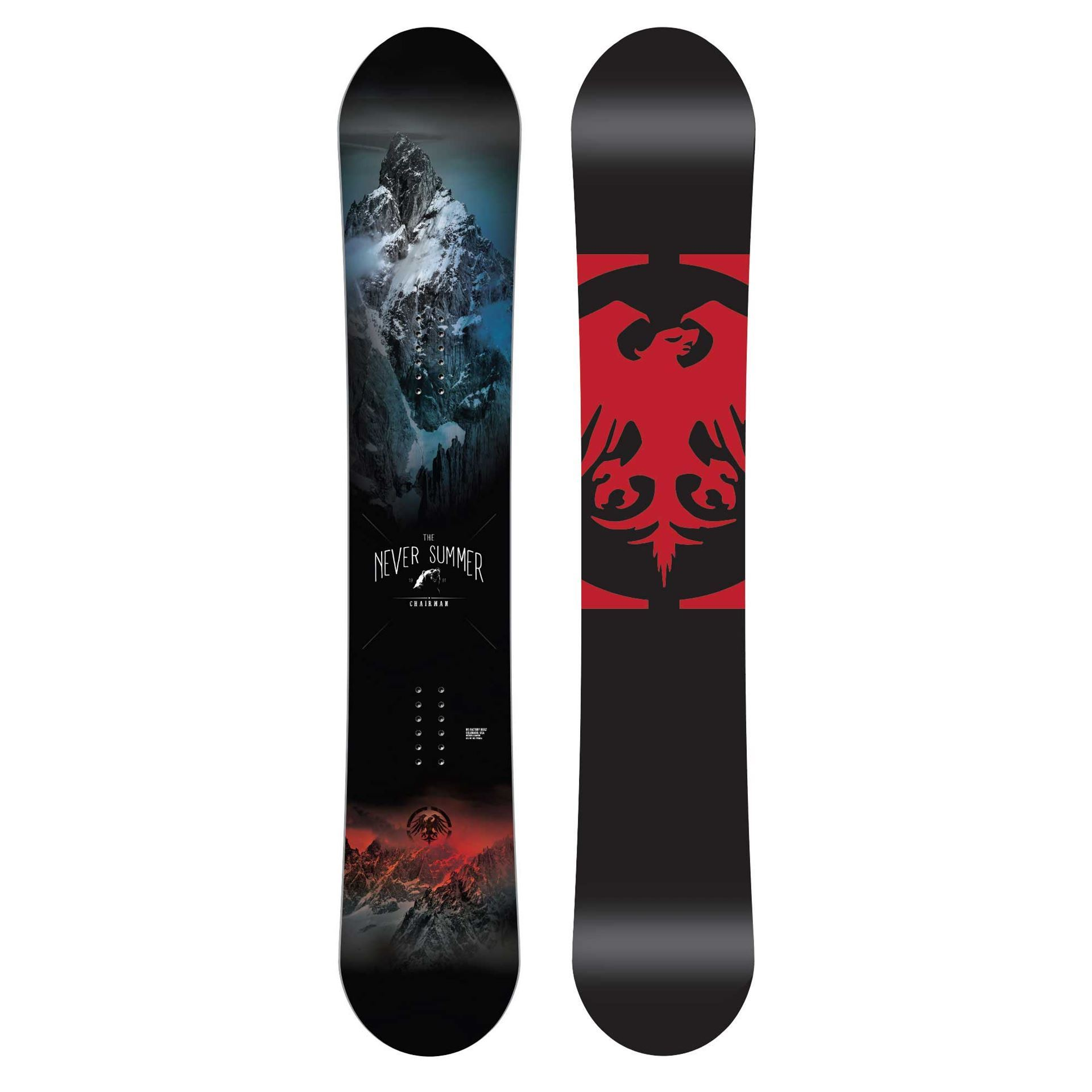 Never Summer Chairman Snowboard 2019
