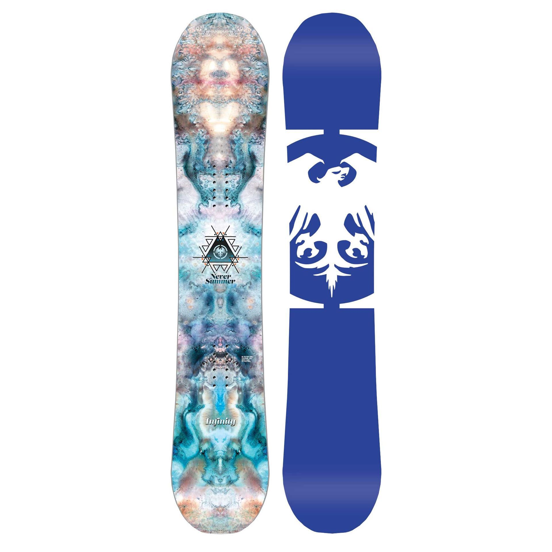 Never Summer Infinity Snowboard 2019