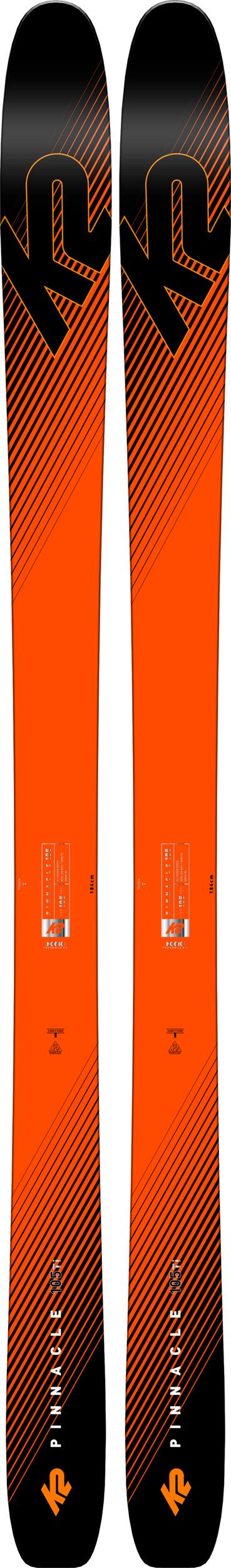 K2 Pinnacle 105Ti Skis 2019